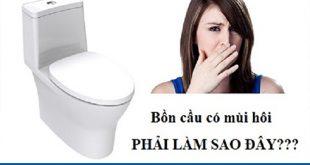 công ty xử lý mùi hôi bồn cầu toilet nhà vệ sinh Long An Tín Phát