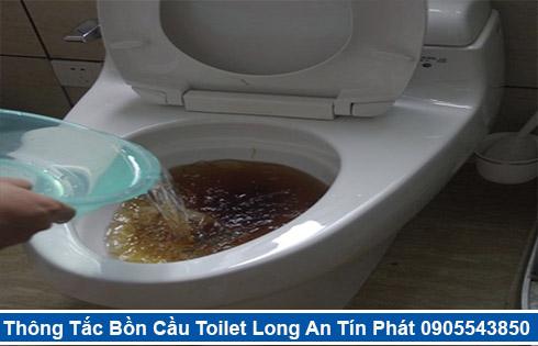 đội ngũ thợ sửa bồn cầu nhà vệ sinh bị nghẹt tại Long An