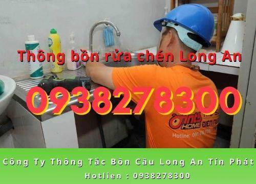 Công ty thông bồn rửa chén Long An uy tín