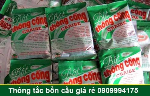 Bán bột thông cống nghẹt Long An giá rẻ 0909996752