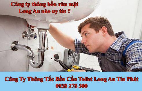 Thông bồn rửa mặt Long An đơn giản đạt hiệu quả cao