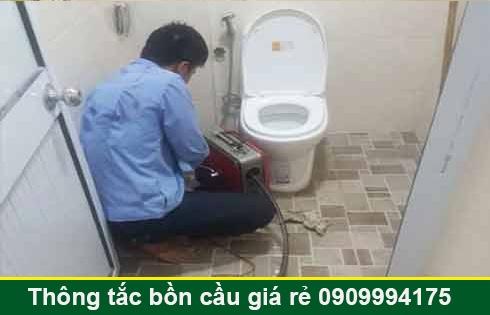 Số điện thoại thông bồn cầu Long An giá rẻ 0909996752