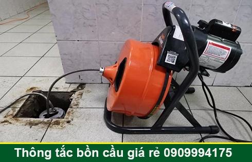 Số điện thoại thông cống nghẹt Long An giá rẻ 0909996752